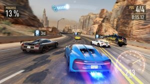 Need For Speed No Limits Mod Apk : Unlimited Money and Gold 2