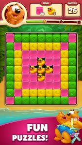 Toon Blast Mod Apk : Unlimited Lives, Boosters & Coins 1