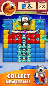 Toon Blast Mod Apk : Unlimited Lives, Boosters & Coins 3
