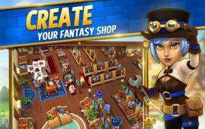 Shop Titans Mod Apk Unlimited Money/Gems/Everything Unlocked 2